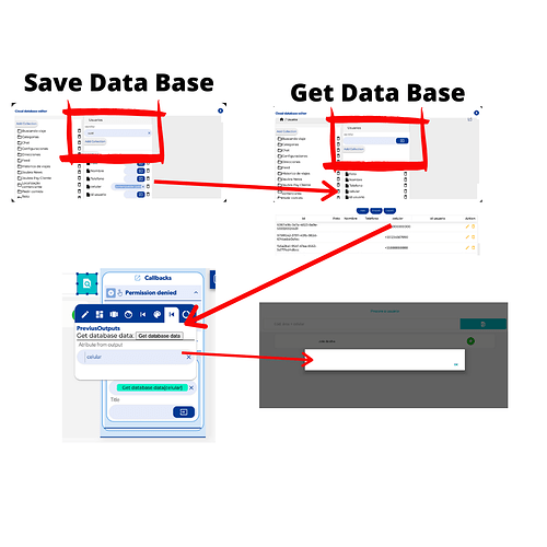 Save Data Base